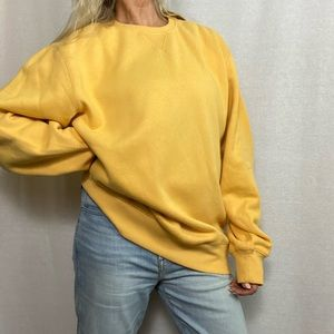 IZOD/Vintage slouchy sweat shirt